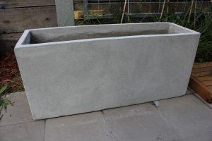 BATCH OF 6 x 120cm Long Ultra Lite Weight Concrete Planter Box
